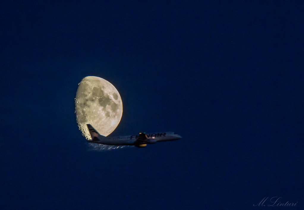 Moon & Finnair