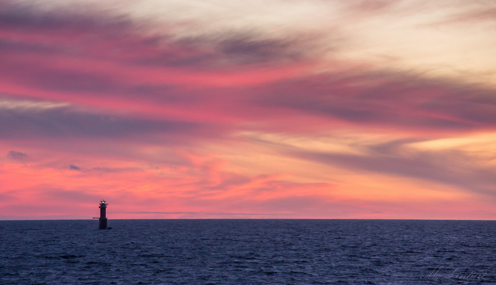 Lighthouse in the altic sea