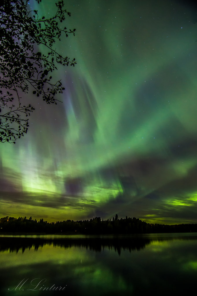 Record high aurora in Espoo